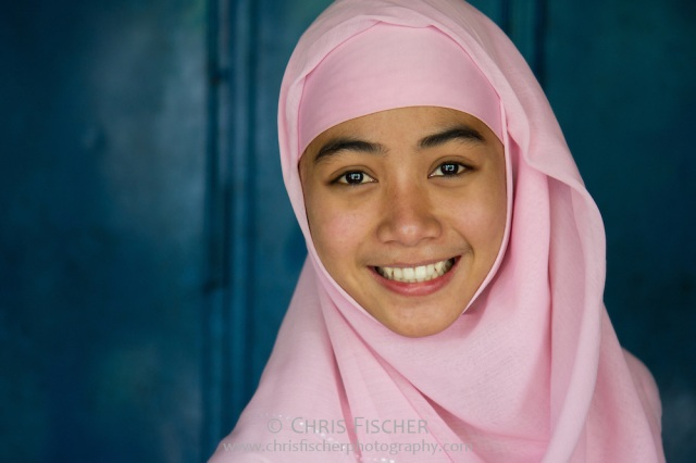 Smiling Young Indonesian Woman