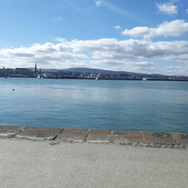 Dun Laoighre Pier